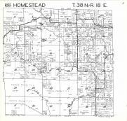 Homestead T38N-R18E, Florence County 1964